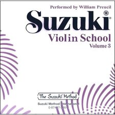 Suzuki Violin School CD, Volume 3 (Standard)