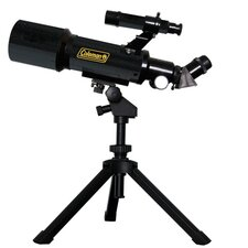 AstroWatch 400x70 Refractor Telescope in Black
