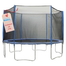 31 Piece Round Trampoline Enclosure Set for 3/6 W Legs