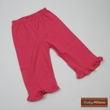 Frilled Pants in Hot Pink