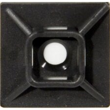 Medium Self-Adhesive Tie Mounts in UV Black