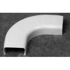 600 Volt 90 Degree Flat Elbow in White