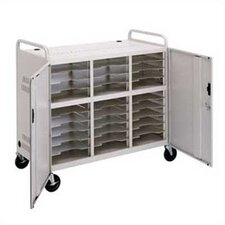 30 Laptop Storage Cart