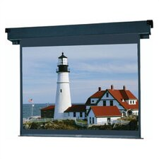 83302 Boardroom Electrol Motorized Screen - 52 x 92""