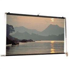 Matte White Scenic Roller Manual Screen - 18' x 18'