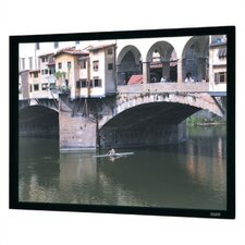 "High Contrast Cinema Perforated Imager Fixed Frame Screen  - 36"" x 48"" Video Format"