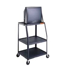 "Pixmate 22"" x 32"" Height Adjustable Shelf Television Cart [45"" - 49"" Height]"