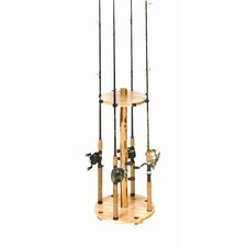 Round 8 Fishing Rod Rack