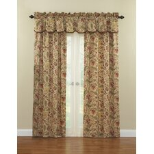 Imperial Dress Cotton Rod Pocket Curtain Single Panel