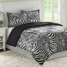 Madagascar Bright Zebra Mini Comforter Set
