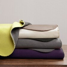 Reversible Micro Fleece Polyester Throw