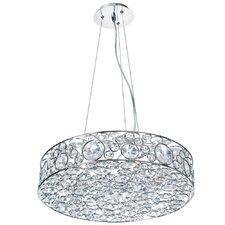 Lynda 6 Light Drum Pendant