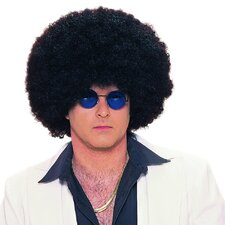 Clown Jumbo Afro Wig in Black