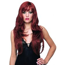 Deluxe Dreamgirl Wig in Natural Red