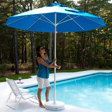 7.5' Square Aluminum Market Umbrella
