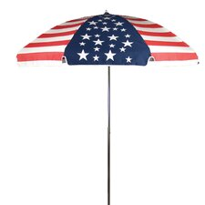 7.5' American Flag Beach Umbrella