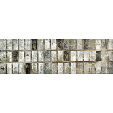 Grey Block Wall Decor