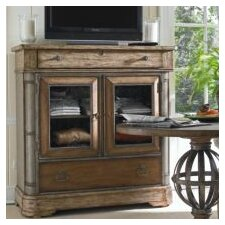 European Farmhouse 2 Drawer Media Chest