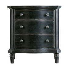 The Classic Portfolio European Cottage 3 Drawer Nightstand