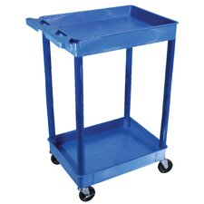 Tub Utility Cart in Blue