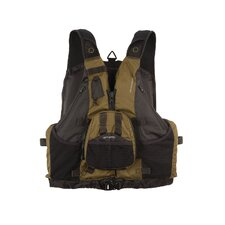 PFD 5550 Hybrid Fishing / Paddle Green Life Vest