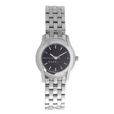 Women's 5505 Series Watch with Black Dial