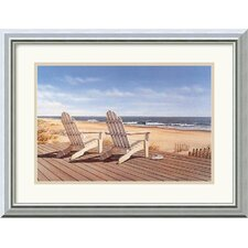 "Point East by Daniel Pollera Framed Fine Art Print - 15.99"" x 19.99"""