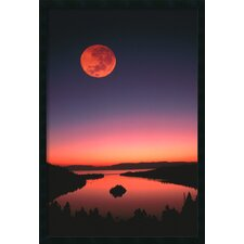 Lake Tahoe At Night Framed Print