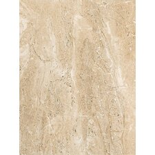 "Torre Venato 12"" x 9"" Glazed Porcelain Field Tile in Sabbia"