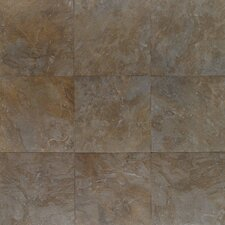 "Amber Valley 13 1/8"" x 13 1/8"" Glazed Porcelain Floor Tile in Bowling Green"