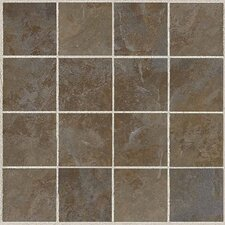 "Amber Valley 13 1/8"" x 13 1/8"" Glazed Porcelain Mosaic Tile in Bowling Green"