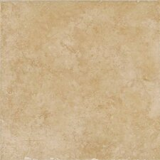 "Treymont 12"" x 12"" Glazed Porcelain Field Tile in Wheat"