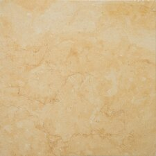 "Jeruselum Gold 12"" x 12"" Honed Limestone Tile in Jerusalem Gold"