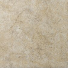 "Toledo 17"" x 17"" Glazed Ceramic Tile in Beige"