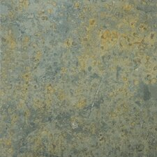 "Natural Stone 12"" x 12"" Slate Tile in Brazilian Multicolor"