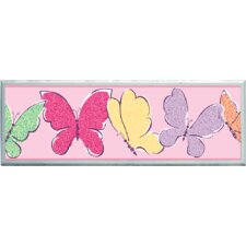 "Butterflies Wall Art - 7"" x 20.5"""