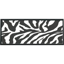 Zebra Wall Plaque