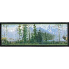 Misty Mountain Wall Plaque