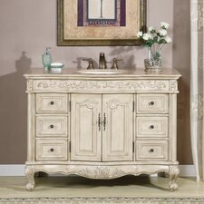 "Ella 48"" Single Sink Bathroom Vanity Set"