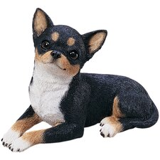 Original Size Chihuahua Pup Sculpture in Tri