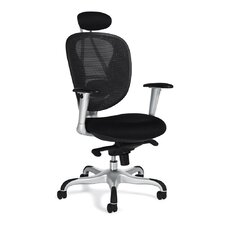 Mesh Executive Chair with Headrest