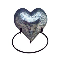 Medium Going Home Brass Heart Keepsake Urn