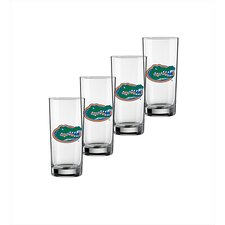 Collegiate Florida Gator 16 Oz Glass (Set of 4)