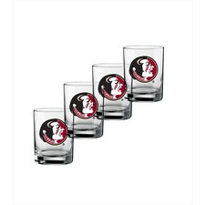 Collegiate Florida State 14 Oz Glass (Set of 4)