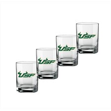 Collegiate 14 Oz Glass (Set of 4)