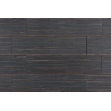 "Bamboo Series 6"" x 24"" Porcelain Tile in Bamboo Brown"