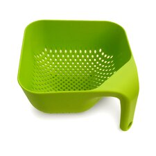 Large Square Colander in Green