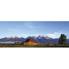 Ultimate Rustic Barn Panoramic Wall Mural