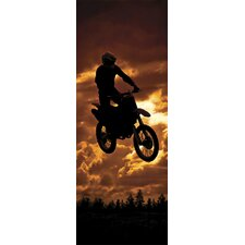 Ultimate Jump at Dusk Wall Mural
