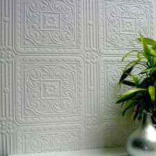 Anaglypta Paintable Turner Tile Textured Wallpaper